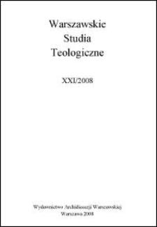Kronika Papieskiego Wydziału Teologicznego w Warszawie, Sekcja św. Jana Chrzciciela : za rok akademicki 2007/2008