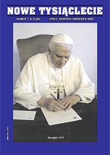Nowe Tysiąclecie. 2005, nr 7-8-9 (40)