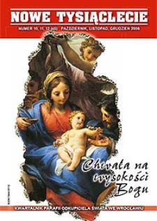 Nowe Tysiąclecie. 2006, nr 10-11-12 (45)