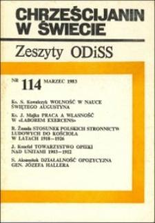 Stosunek polskich stronnictw ludowych do Kościoła w latach 1918-1926