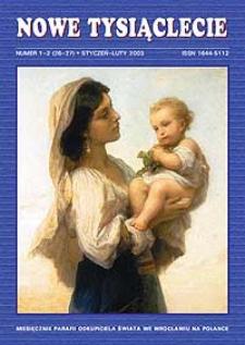 Nowe Tysiąclecie. 2003, nr 1-2 (26-27)