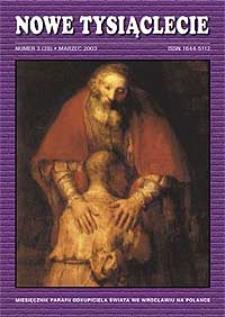 Nowe Tysiąclecie. 2003, nr 3 (28)