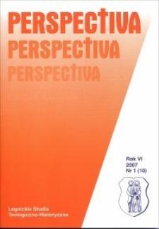 Recenzje i omówienia (Perspectiva, R.6, nr 1)