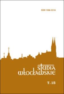 Studia Włocławskie. T. 15 (2013) - Spis treści