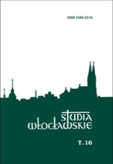 Studia Włocławskie. T. 16 (2014) - Spis treści