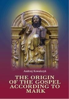The origin of the Gospel according to Mark