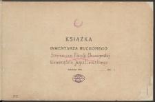 Biblioteka Akademii Teologii Katolickiej - Inwentarz Nr 7