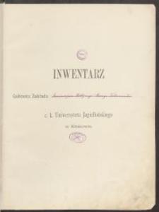 Biblioteka Akademii Teologii Katolickiej - Inwentarz Nr 9
