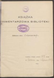 Biblioteka Akademii Teologii Katolickiej - Inwentarz Nr 14