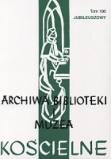 Książka i biblioteka w życiu średniowiecznych i staropolskich konwentów dominikańskich na przykładzie klasztorów środkowopolskich w świetle inwentarzy bibliotecznych