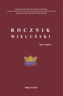 Prace historyczne w bibliotece wieluńskiego kolegium pijarskiego w świetle inwentarzy z 1809 i 1821 r.
