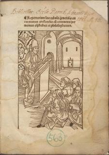 Repertorium Auctoritatum Aristotelis et aliorum philosophorum