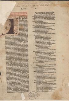 Canon. Lib. 1 / Trad. Gerardus Cremonensis