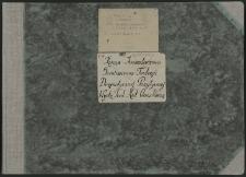 Biblioteka Akademii Teologii Katolickiej - Inwentarz Nr 27