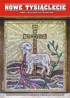 Nowe Tysiąclecie. 2008, nr 1 (50)