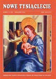 Nowe Tysiąclecie. 2002, nr 12 (25)