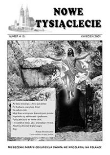 Nowe Tysiąclecie. 2001, nr 4 (5)