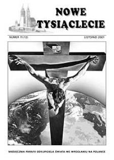 Nowe Tysiąclecie. 2001, nr 11 (12)