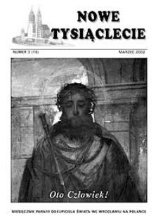 Nowe Tysiąclecie. 2002, nr 3 (16)