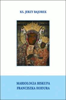 Mariologia biskupa Franciszka Hodura
