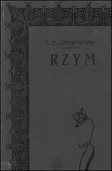 Rzym : mozaika, jako chrześcijańska sztuka bazylikowa : studyum archeologiczne (IV w.-IX w.)