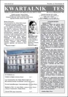 Kwartalnik TES : nieregularne pismo Towarzystwa im. Edyty Stein. 2002, nr 1 (1)