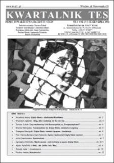 Kwartalnik TES : pismo Towarzystwa im. Edyty Stein. 2002, nr 3-4 (3-4)