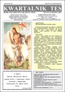 Kwartalnik TES : pismo Towarzystwa im. Edyty Stein. 2003, nr 5 (5)