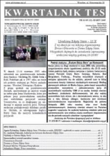Kwartalnik TES : pismo Towarzystwa im. Edyty Stein. 2005, nr 3 (12)