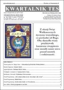 Kwartalnik TES : pismo Towarzystwa im. Edyty Stein. 2006, nr 2 (14)