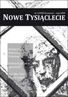Nowe Tysiąclecie. 2009, nr 1 (54)