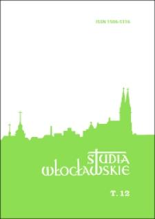 Spis treści (Studia Włocławskie. T.12/2009)