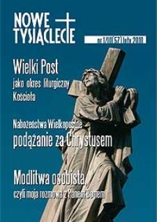Nowe Tysiąclecie. 2010, nr 1 (57)