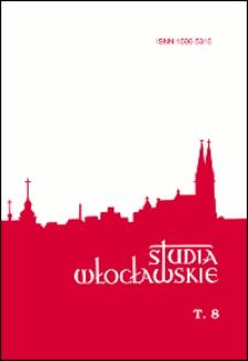 Spis treści = Contents (Studia Włocławskie. T. 8/2005)