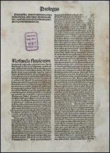 Sententiarum libri IV, cum commento Bonaventurae. P. I.